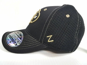 Colorado Buffaloes Cap Zephyr Stretch Fit Fitted Black Mesh Undertaker Hat