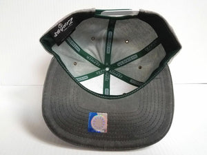 Michigan State Spartans Zephyr Cap Flat Brim Snapback Gray Cotton Avenue Hat