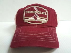 Florida State Seminoles Cap Zephyr Adjustable Mesh Snapback Homestead Truck Hat