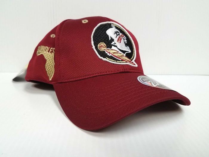 Florida State Seminoles Cap Zephyr Stretch Fit Fitted Stateside Hat NCAA