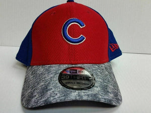 Chicago Cubs Cap New Era 39Thirty Stretch Fit Fitted Hat Tech Stir MLB