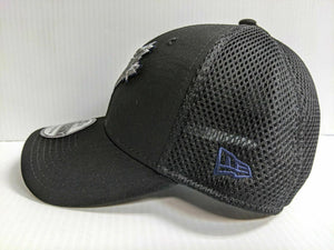 Toronto Blue Jays Cap New Era 39Thirty Stretch Fit Black Team Neo Hat MLB
