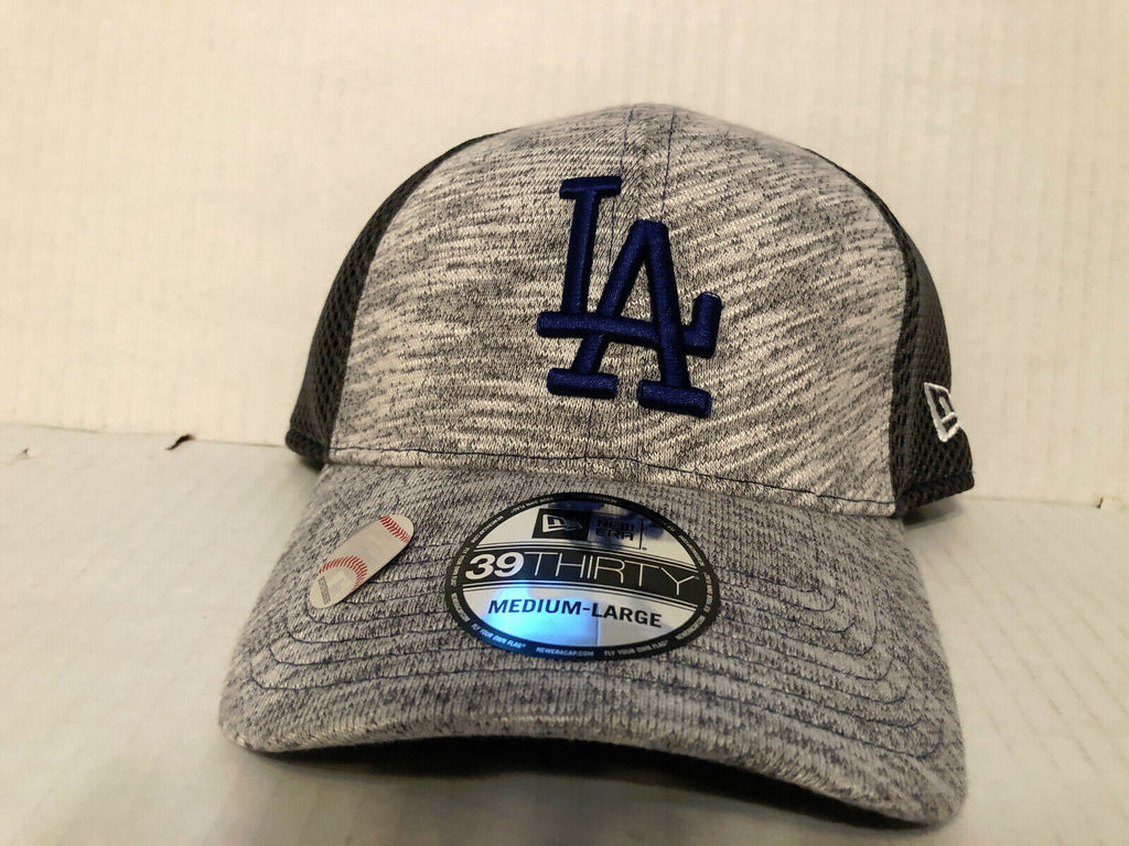 Los Angeles Dodgers Cap New Era 39Thirty Stretch Fit Hat MLB