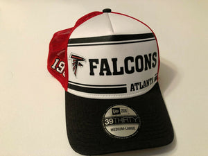 Atlanta Falcons Cap New Era 39Thirty Stretch 2019 Home Sideline 1970s Hat