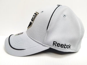 Los Angeles Kings Reebok NHL Gray Flex Stretch Fitted Fit Gray Hat