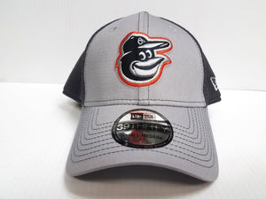 Baltimore Oriole Cap New Era 39Thirty Stretch Fit Fitted Hat Grayed Out 2 Neo