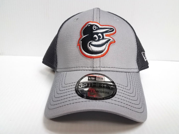 Baltimore Orioles Cap New Era 39Thirty Stretch Fit Fitted Hat Grayed Out 2 Neo
