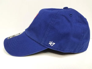 Texas Rangers New Franchise '47 Brand Fitted Cap Unstructured Blue Hat