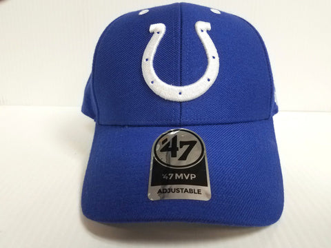 Indianapolis Colts 47 Brand Cap Hook & Loop Adjustable Audible MVP Hat NFL