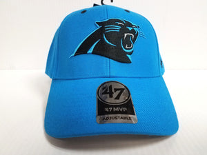 Carolina Panthers 47 Brand Cap Hook & Loop Adjustable Audible MVP Hat NFL