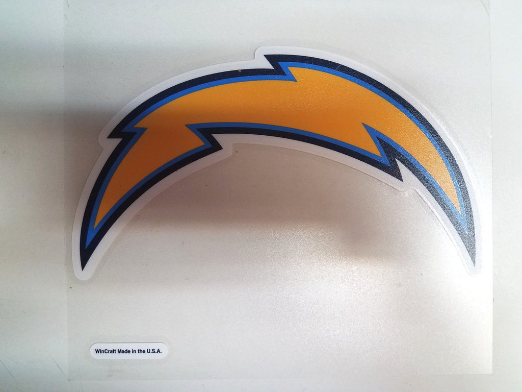 Los Angeles Chargers Colored Window Die Cut Decal Wincraft Sticker 8x8 NFL