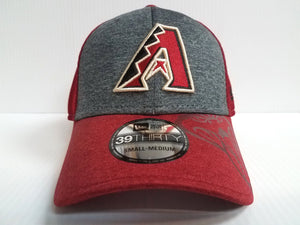 Arizona Diamondbacks Cap New Era 39Thirty Stretch Fit Shadow Gleam Hat MLB