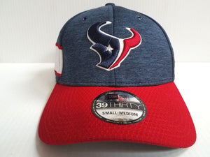 Houston Texans Cap New Era 39Thirty Stretch Fit On Field 2018 Home Sideline Hat