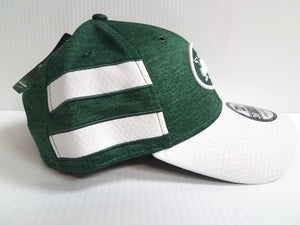 New York Jets Cap New Era 39Thirty Stretch On Field 2018 Home Sideline Hat