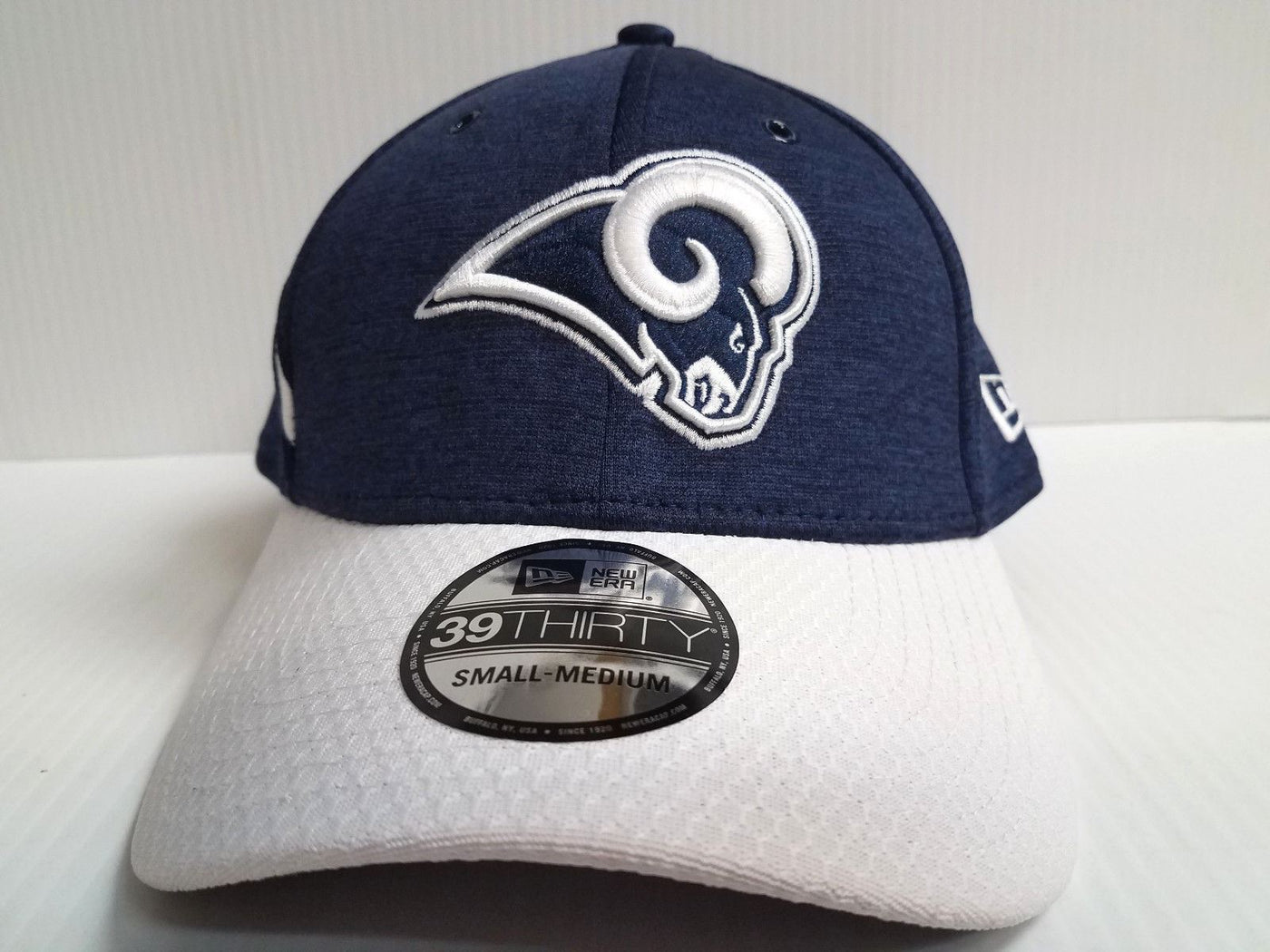 Los Angeles Rams Cap Era 39Thirty Stretch On Field 2018 Home Sideline –  Sports City Hats 070447f1f