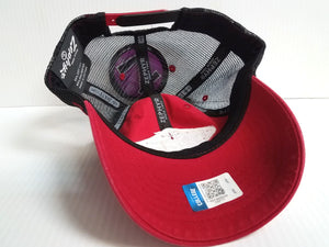 Wisoncin Badgers Cap Zephyr Adjustable Mesh Snapback Roadside Trucker Hat