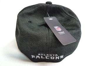 Atlanta Falcons Cap New Era 39Thirty Stretch Black 2018 Road Sideline Hat