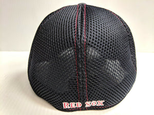 Boston Red Sox Cap New Era 39Thirty Stretch Fit Mesh Classic Shade Neo Hat