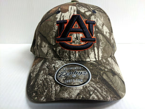Auburn Tigers Cap Zephyr Adjustable Remington Realtree Camo Hat