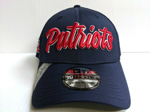 New England Patriots Cap New Era 39Thirty Stretch 2019 Home Sideline 1960s Hat