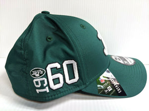 New York Jets Cap New Era 39Thirty Stretch 2019 Home Sideline 1960s Hat