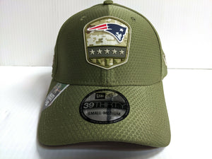 New England Patriots Cap Era 39Thirty Stretch 2019 Salute to Service Hat NFL
