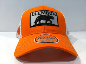 Clemson Tigers Cap Zephyr Adjustable Snapback Mesh Badge Hat NCAA