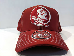 Florida State Seminoles Cap Zephyr Aperature Stretch Fit Fitted Hat NCAA