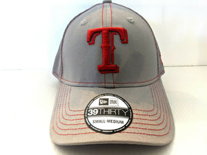 Texas Rangers Cap New Era 39Thirty Stretch Grayed Out Neo Hat