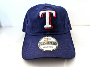 Texas Rangers Cap Strapback New Era 9Twenty Core Classic Dad Hat