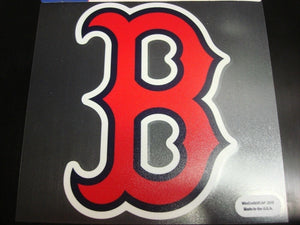 Boston Red Sox Colored Window Die Cut Decal Wincraft Sticker 8x8 MLB