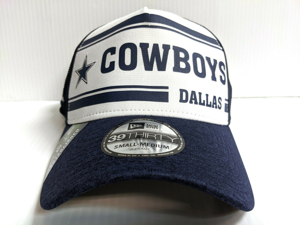 Dallas Cowboys Cap New Era 39Thirty Stretch 2019 Home Sideline 1970s Hat