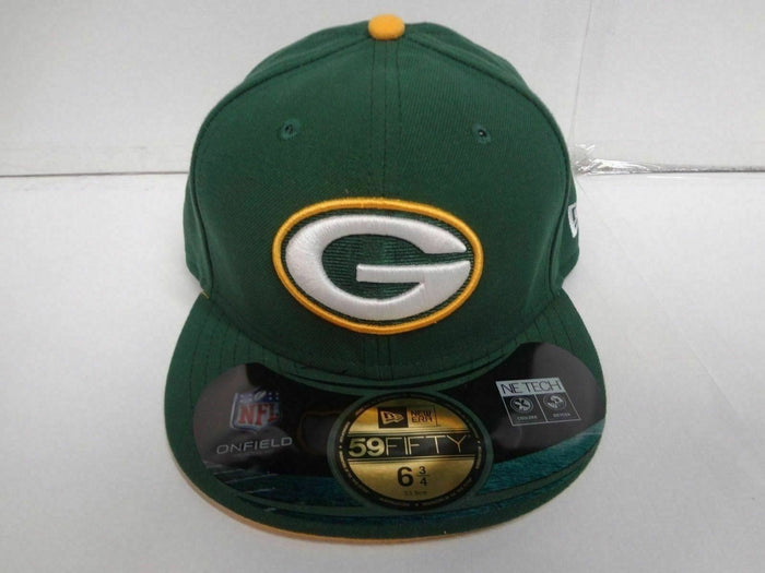 YOUTH Green Bay Packers New Era 59Fifty Cap Fitted On Field Hat NFL