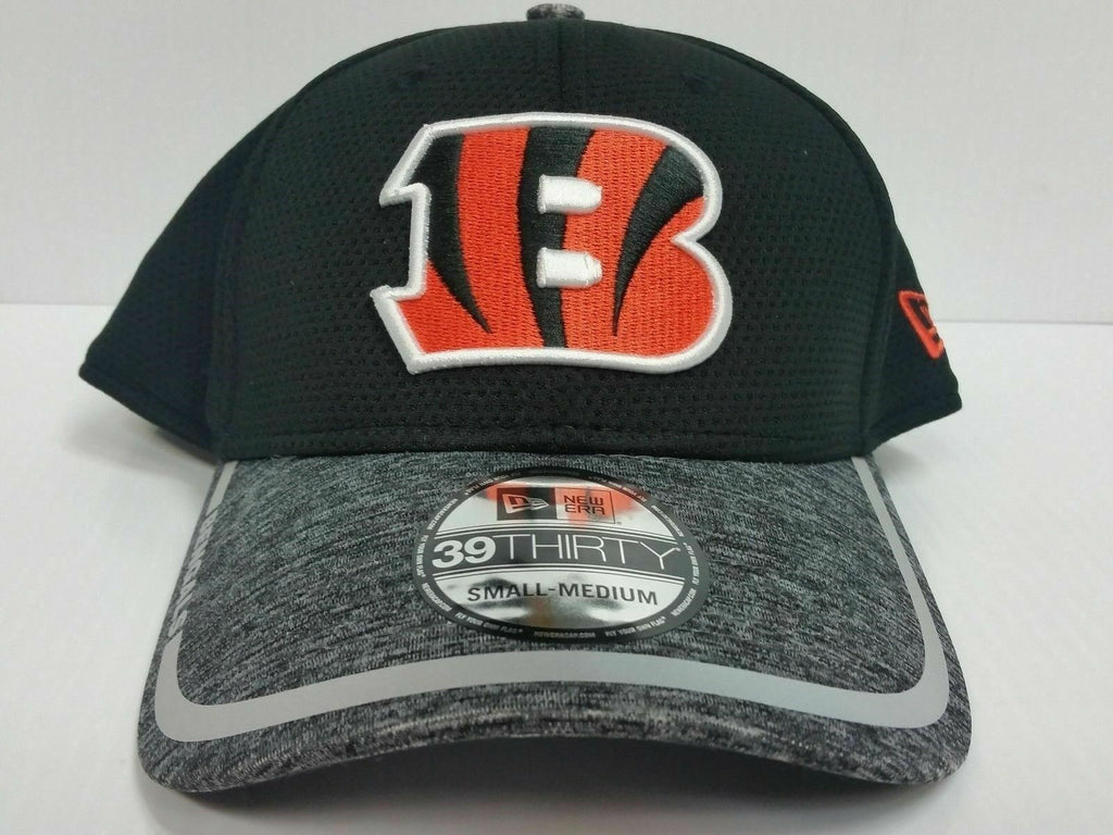 Cincinnati Bengals Cap New Era 39Thirty Stretch Fitted Hat 2016 Training Camp