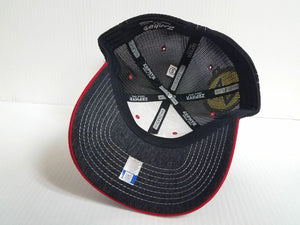 Louisville Cardinals Cap Zephyr Stretch Fit Fitted Mesh Headlight Foil Hat NCAA