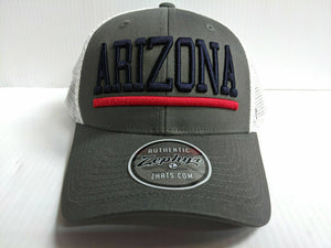 Arizona Wildcats Cap Zephyr Adjustable Snapback Mesh Upfront Hat