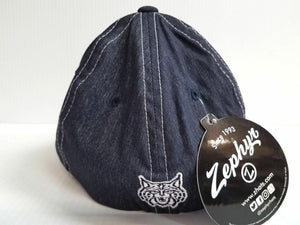 Arizona Wildcats Cap Zephyr Stretch Fit Fitted Center Court Heathered Hat