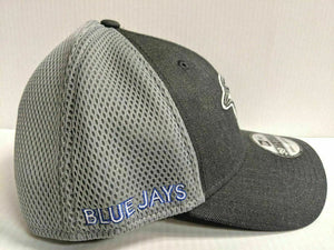 Toronto Blue Jays Cap New Era 39Thirty Stretch Fit Mesh Heather Front Neo Hat
