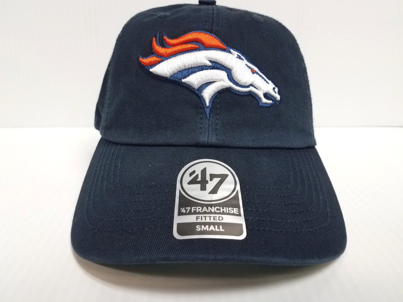 Denver Broncos New Franchise  47 Brand Fitted Cap Unstructured Navy Ha –  Sports City Hats e19f623a74f4