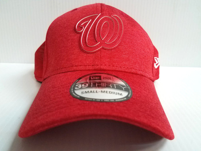 Washington Nationals Cap New Era 39Thirty Stretch Fit 2018 Clubhouse Hat MLB