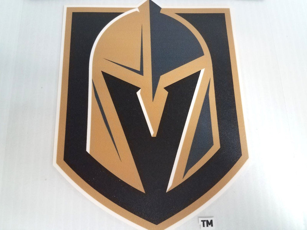 Vegas Golden Knights Colored Window Die Cut Decal Wincraft Sticker 8x8 NHL