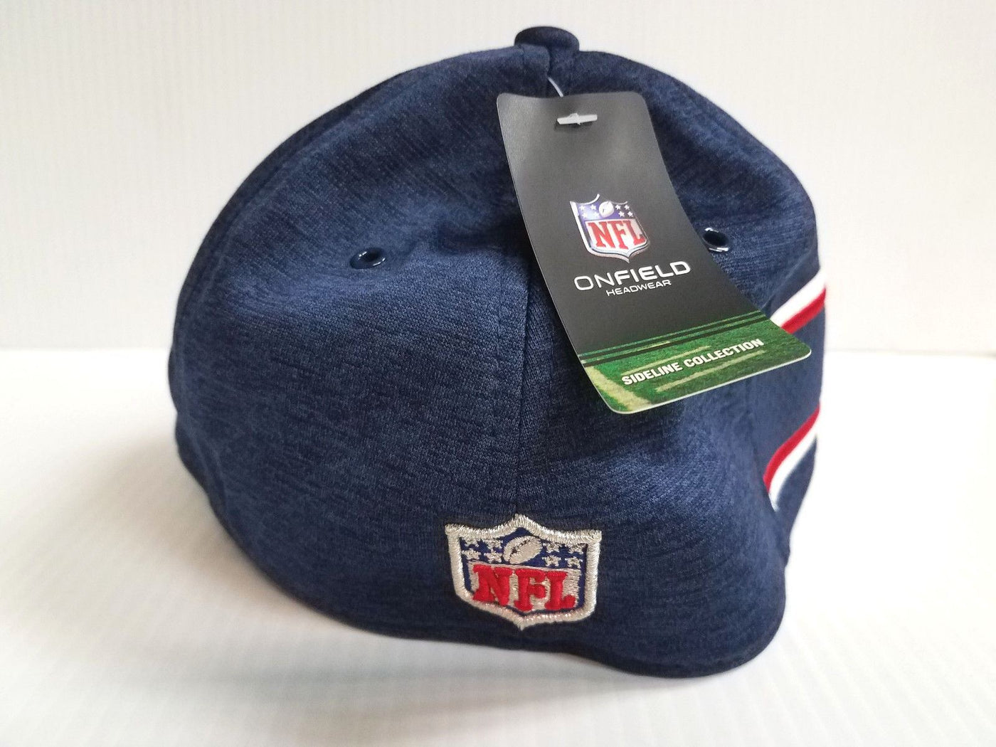 ... 2016 bca sideline 39thirty flex fitted hat large 310cc fcf00 sale new  england patriots cap era 39thirty stretch on field 2018 home sideline hat  250c1 ... 19fc5d31a180