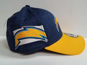 Los Angeles Chargers Cap Era 39Thirty Stretch On Field 2018 Home Sideline Hat