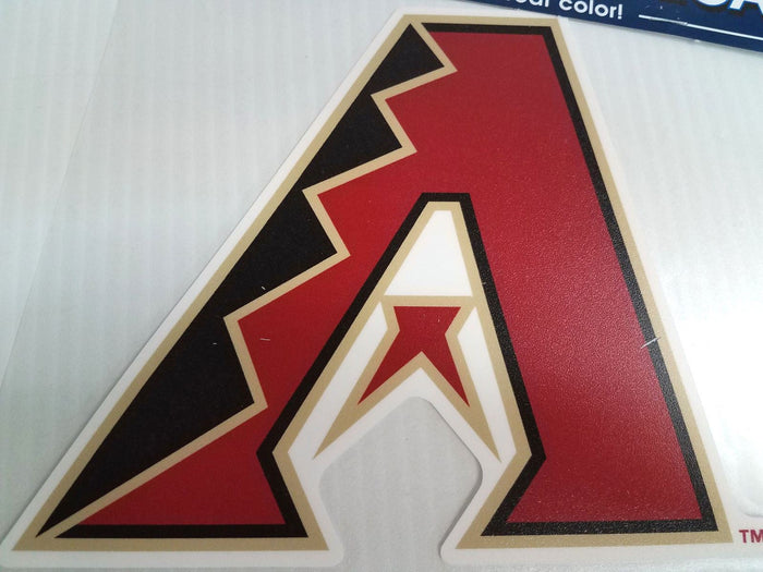 Arizona Diamondbacks Colored Window Die Cut Decal Sticker Wincraft 8x8 MLB