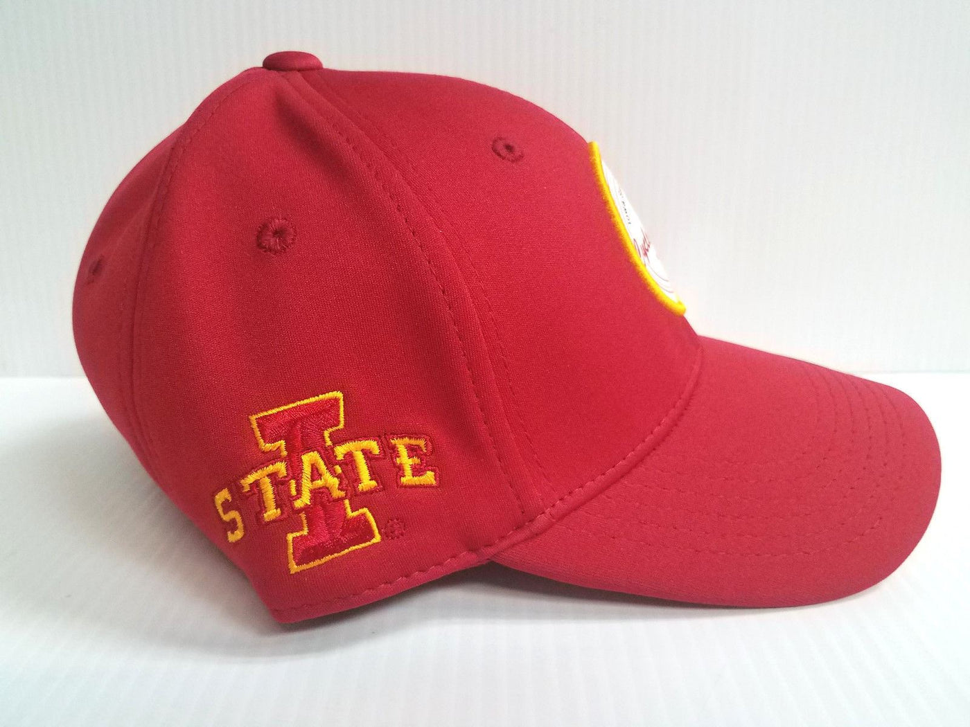 new concept 8e555 7ff3d Iowa State Cyclones Black Clover Cap Lucky Patch Hook Loop Adjustable Golf  Hat