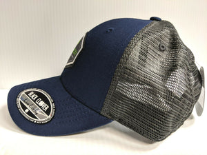 Black Clover Cap High Tide 3 Woven Patch Adjustable Mesh Golf Hat Live Lucky