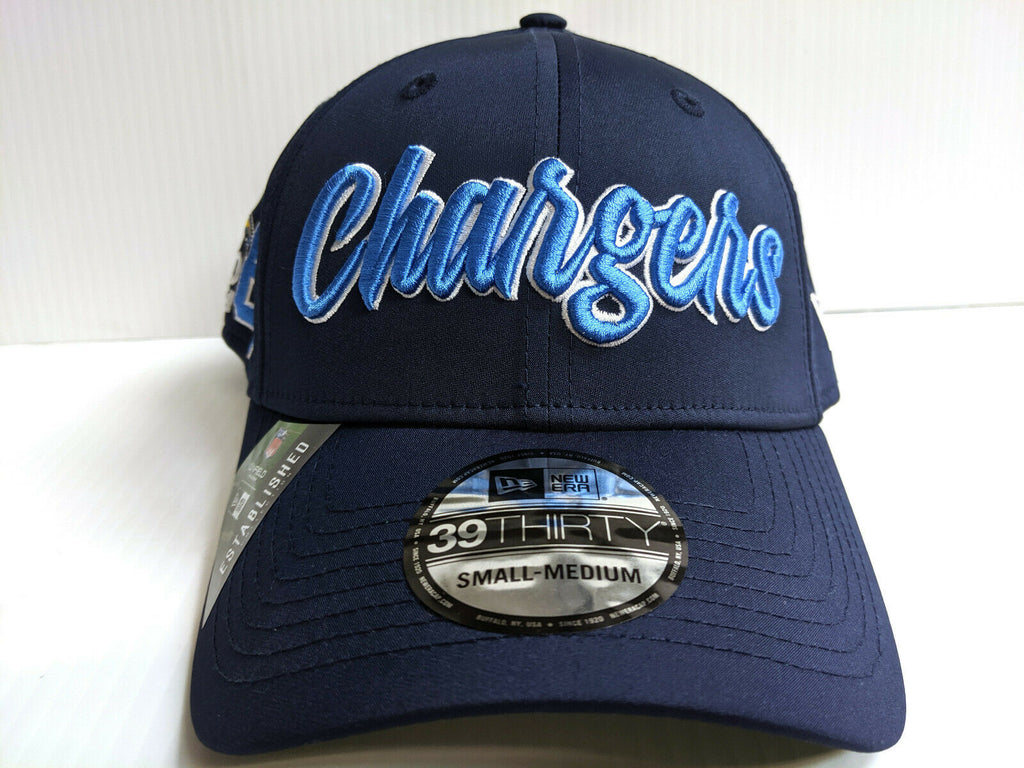 Los Angeles Chargers Cap New Era 39Thirty Stretch 2019 Home Sideline 1960s Hat
