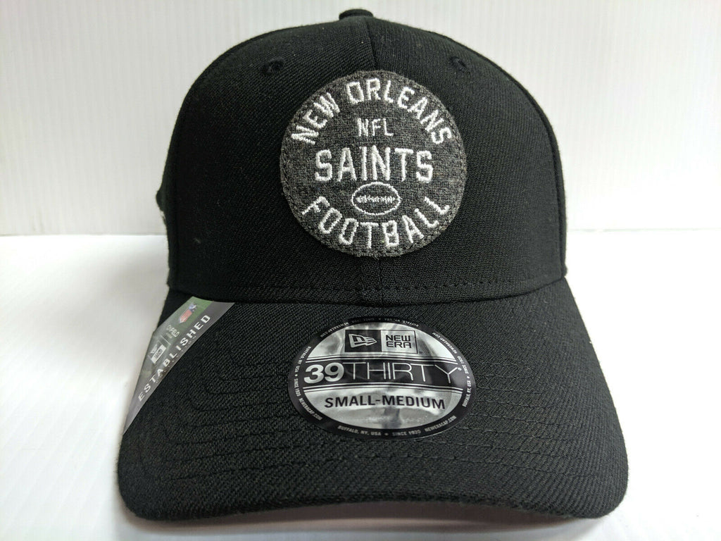 New Orleans Saints Cap New Era 39Thirty Stretch 2019 Home Sideline 1930s Hat