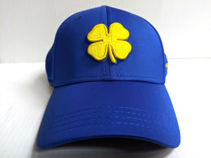 Black Clover Cap Stretch Fit Fitted Premium Clover 81 Blue Golf Hat Live Lucky