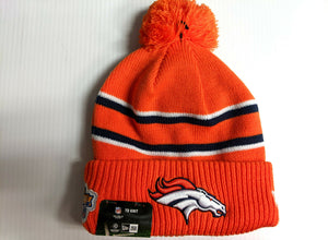 Denver Broncos Knit Hat New Era 2019 On Field Thanksgiving Day Cap NFL